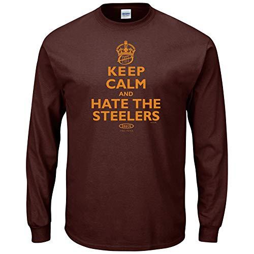 Cleveland Browns Anti-Steelers Shirt (Unlicensed)