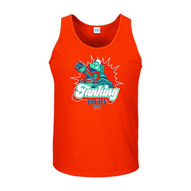 Smack Apparel Miami Football Fans. Tanking for Tua Orange T-Shirt (Sm-5X)