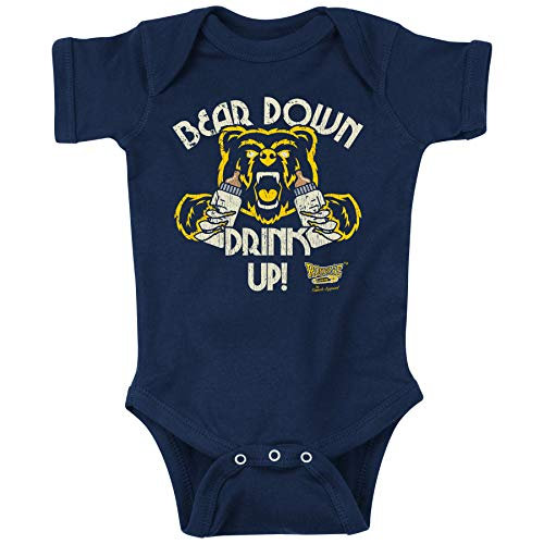 Cal Football Fans. Bear Down Drink Up! Baby Onesie or Toddler T-Shirt