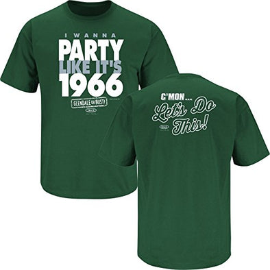 Michigan State Spartans Fans. I Wanna Party Like It's 1966. Forest Playoff T-Shirt (Sm-5X) (Medium)