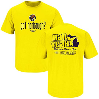 Michigan College Sports Apparel | Shop Unlicensed Michigan Gear | Got Harbaugh? Shirt