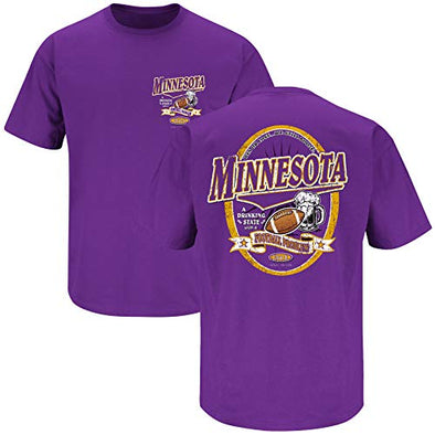 Minnesota Pro Football Shirt | Buy Gear for Minnesota Fans | Minnesota A Drinking State with A Football Problem