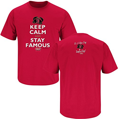 Tampa Bay Pro Football Apparel | Shop Unlicensed Tampa Bay Gear | Keep Calm and Stay Famous Shirt