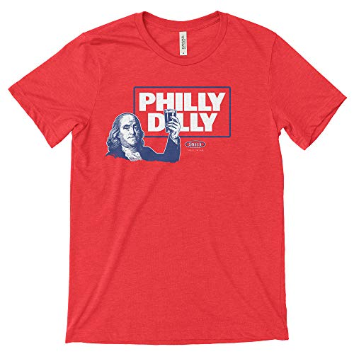Philadelphia Pro Baseball Apparel | Shop Unlicensed Philadelphia Gear | Philly Dilly Shirt