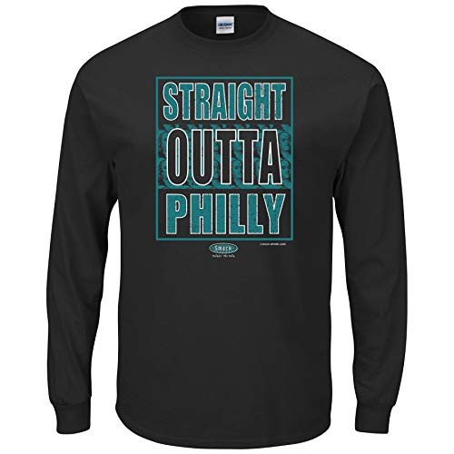 Philadelphia Football Fans. Straight Outta Philly Shirt or Hoodie