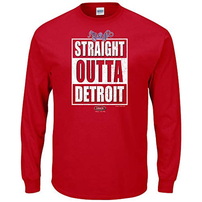 Detroit Hockey Fans. Straight Outta Detroit Shit