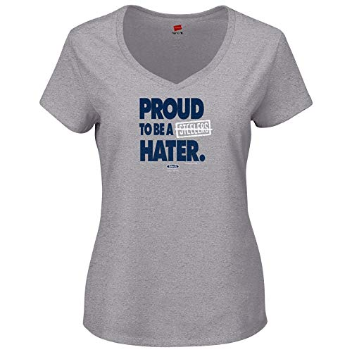 New England Pro Football Unlicensed Ladies Apparel | Proud to be a Steelers Hater Ladies Shirt