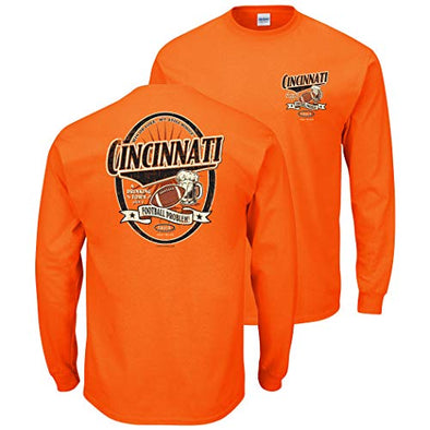 Cincinnati Pro Football Apparel | Shop Unlicensed Cincinnati Gear | A Drinking Town with a Football Problem Shirt