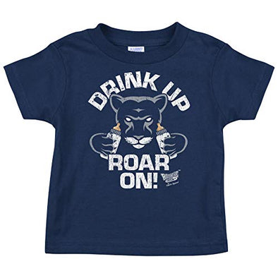 Penn State Football Fans. Drink Up Roar On! Onesie or Toddler T-Shirt