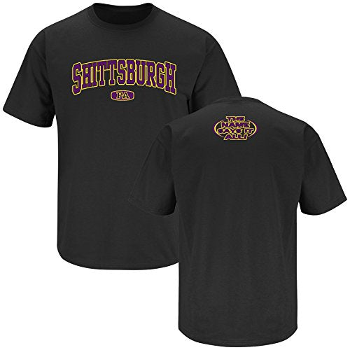 Baltimore Pro Football Apparel | Shop Unlicensed Baltimore Gear | Shittsburgh (Anti-Steelers) Shirt