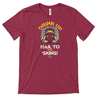 Washington Pro Football Fans. Drink Up, Hail to The Skins Shirt