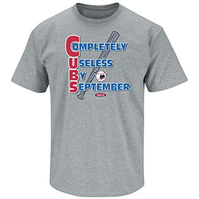 St. Louis Pro Baseball Apparel | Shop Unlicensed St. Louis Gear | CUBS | Completely Useless by September Shirt