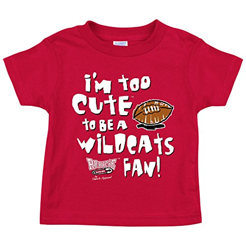Louisville Fans. Too Cute To Be A Kentucky Fan Red Onesie & Toddler Tee (NB-4T)