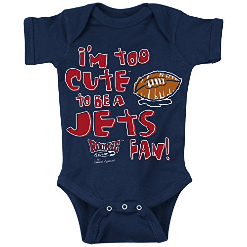 Smack Apparel NE Football Fans. Too Cute. Onesie (NB-18M) or Toddler Tee (2T-4T)