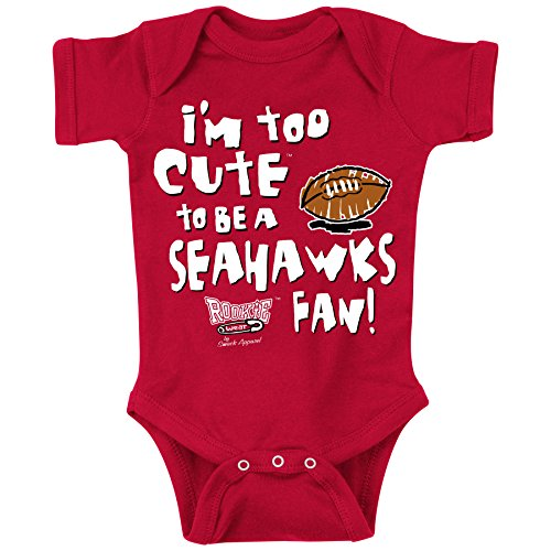 Smack Apparel Arizona Cardinals Fans. Too Cute. Onesie (NB-18M) or Toddler Tee (2T-4T)