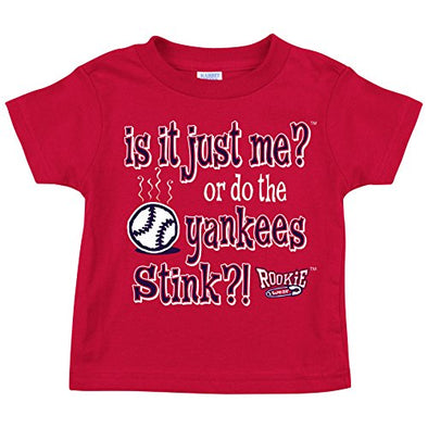 Boston Baseball Fans. is It Just Me?! (Anti-Yankees) Onesie (NB-18M) or Toddler Tee (2T-4T) (Rookie Wear by Smack Apparel)
