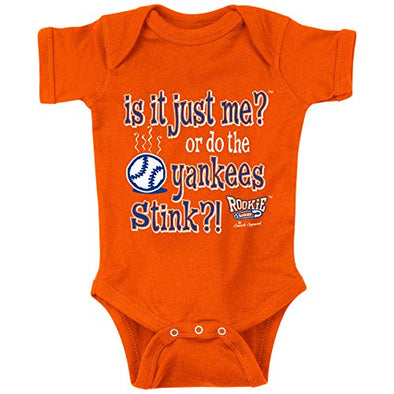 New York Baseball Fans. is it Just Me? Or Do The Yankees Stink?! Baby Onesie or Toddler T-Shirts