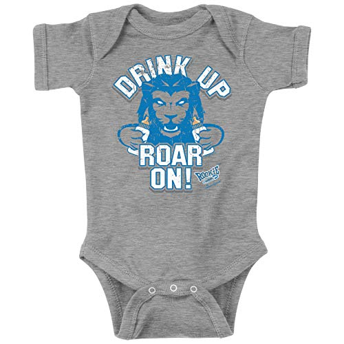 Detroit Football Fans. Drink Up Roar On! Baby Onesie or Toddler T-Shirt