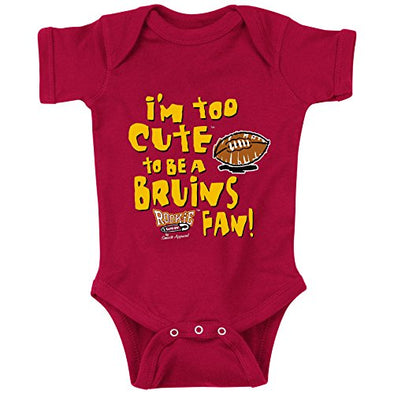 Southern California Football Fans. Too Cute (Anti-Bruins) Onesie or Toddler T-Shirt