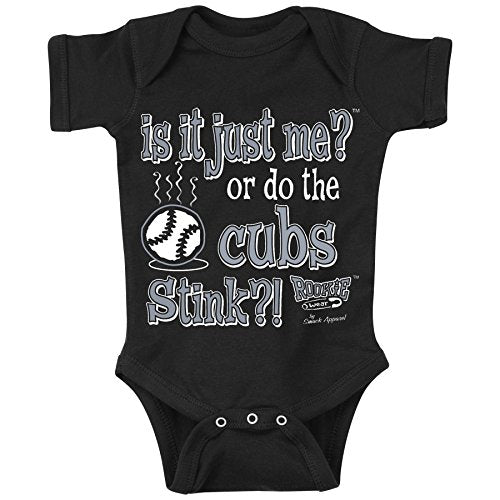 Smack Apparel Chicago White Sox Fans. is It Just Me?! Onesie (NB-18M) or Toddler Tee (2T-4T)