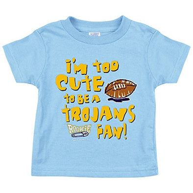 Onesie 2T-4T or Toddler Tee is It Just Me? NB-18M Smack Apparel USC Football Fans