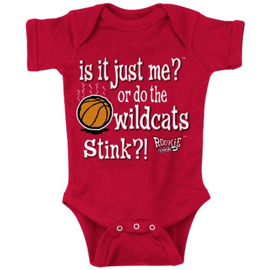 Louisville Cardinals Fans. is It Just Me or do The Wildcats Stick!? Red Onesie & Toddler Tee (NB-4T)