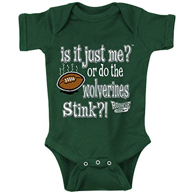 Michigan State Football Fans. is It Just Me or do The Wolverines Stink?! Baby Onesie or Toddler T-Shirt