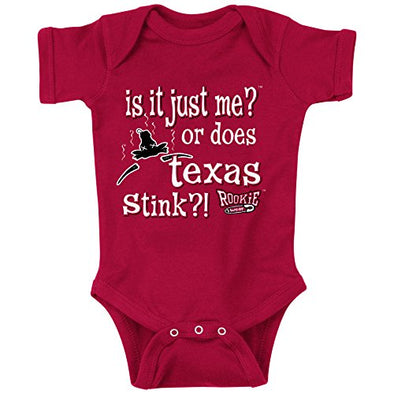 Smack Apparel Oklahoma Sooners Fans. is it Just Me!? Cardinal Onesie (NB-18M) & Toddler Tee (2T-4T)