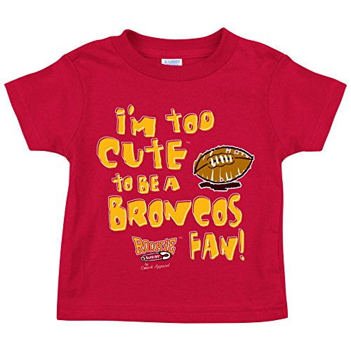 Smack Apparel Kansas City Chiefs Fans. Too Cute. Onesie (NB-18M) or Toddler Tee (2T-4T)