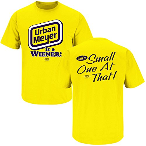 Michigan College Sports Apparel | Shop Unlicensed Michigan Gear | Urban Meyer is a Wiener Short SleeveShirt