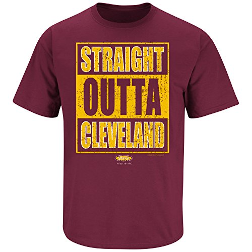 Cleveland Pro Basketball Apparel | Shop Unlicensed Cleveland Gear | Straight Outta Cleveland Shirt