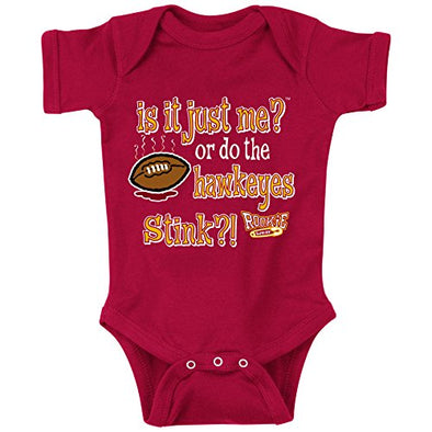 Unlicensed Iowa State College Baby Bodysuits or Toddler Tees | Do the Hawkeyes Stink?!