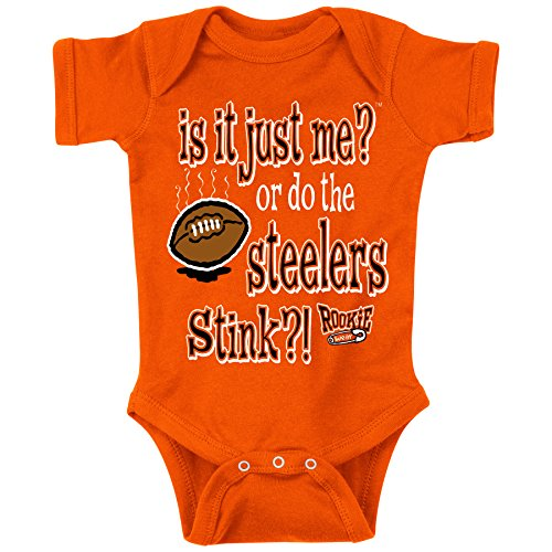 Unlicensed Cincinnati Pro Football Baby Bodysuits or Toddler Tees | Is It Just Me?! (Anti-Steelers)