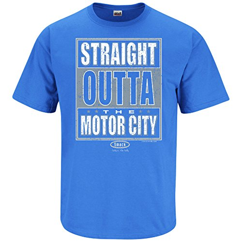 Straight Outta Chi-Town Ladies Navy Shirt Xs-2x Smack Apparel Chicago Football Fans