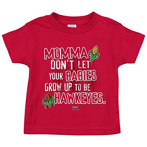 Nebraska Cornhuskers Fans. Momma Don't Let Your Babies Onesies or Toddler Tee (NB-4T)