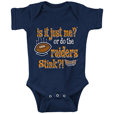 Unlicensed Denver Pro Football Baby Bodysuits or Toddler Tees | Is It Just Me or Do the Raiders Stink?!