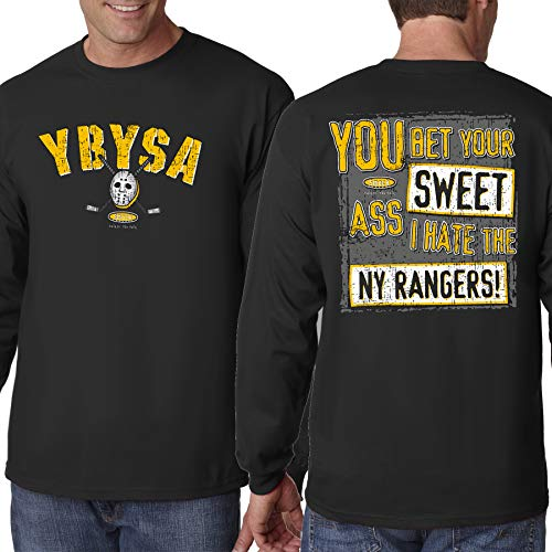 Boston Pro Hockey Apparel | Shop Unlicensed Boston Gear | YBYSA I Hate the Rangers (Anti-New York)  Shirt