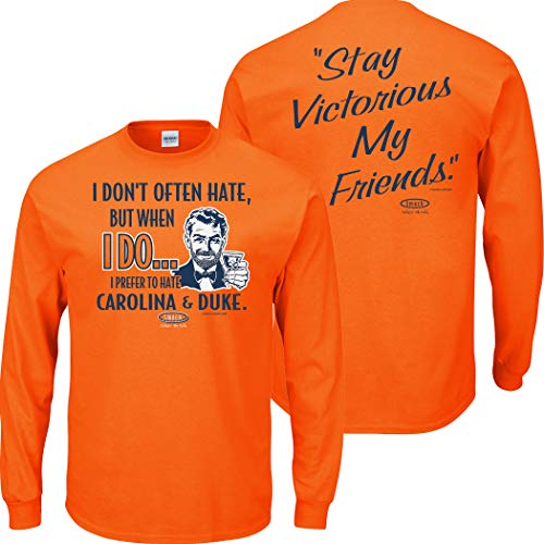 Syracuse College Apparel | Shop Unlicensed Syracuse Gear | Prefer to Hate Carolina & Duke Shirt