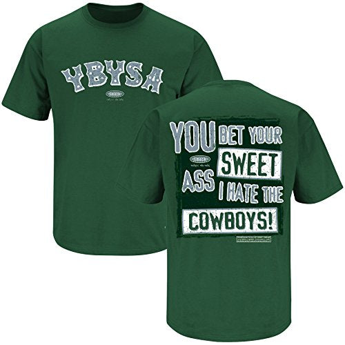 Philadelphia Pro Football Apparel | Shop Unlicensed Philadelphia Gear | YBYSA I Hate the Cowboys Shirt