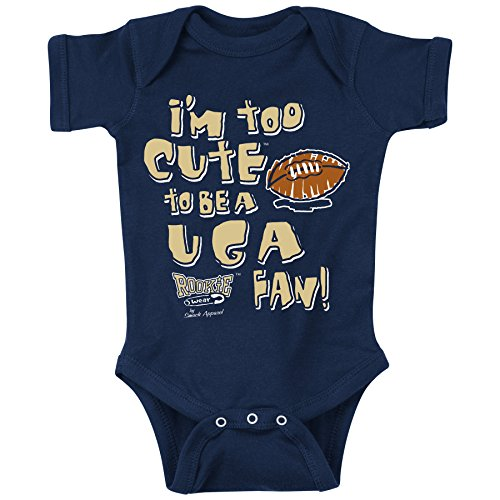 Smack Apparel Georgia Tech Football Fans. Too Cute Onesie (NB-18M) or Toddler Tee (2T-4T)