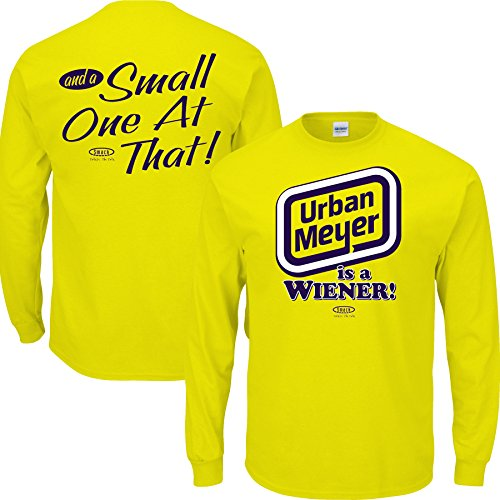Michigan College Sports Apparel | Shop Unlicensed Michigan Gear | Urban Meyer is a Wiener Shirt