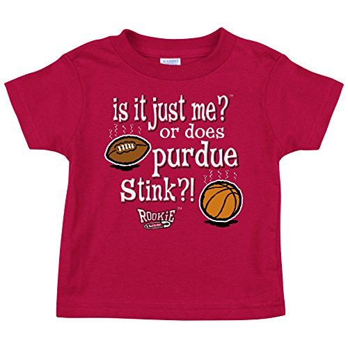 Indiana Hoosiers Fans. is it Just Me!? Onesie (NB-18M) & Toddler Tee (2T-4T)