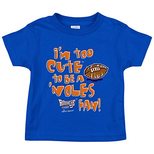 Smack Apparel Florida Gators Fans. Too Cute Blue Onesie (NB-18M) & Toddler Tee (2T-4T)