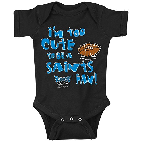 Smack Apparel Carolina Panthers Fans. Too Cute. Onesie (NB-18M) or Toddler Tee (2T-4T)