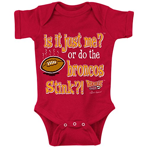 Unlicensed Kansas City Pro Football Baby Bodysuits or Toddler Tees | Is It Just Me? (Anti-Broncos)