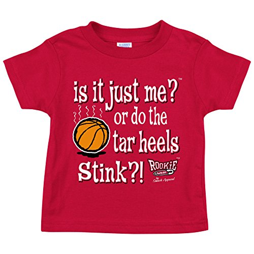 is it Just Me? Or Do The Tarheels Stink Red Onesie or Toddler Tee Smack Apparel North Carolina State Fans NB-4T