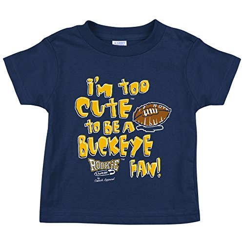 Michigan Wolverines Fans. Too Cute Onesie (NB-18M) or Toddler Tee (2T-4T)