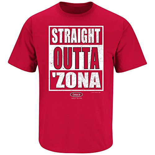 Arizona Pro Football Apparel | Shop Unlicensed Arizona Gear | Straight Outta 'Zona Shirt