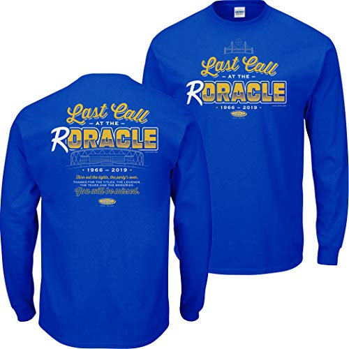 Smack Apparel Golden State Basketball Fans. Last Call at The Roracle Royal T-Shirt (Sm-5X)