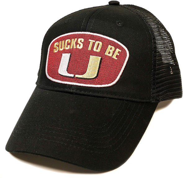 Florida State College Sports Apparel | Shop Unlicensed Florida State Gear | Sucks to be U! (Anti-Miami) Shirt